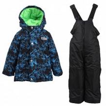 Купить комплект куртка/полукомбинезон salve, цвет: синий/черный ( id 10675781 )