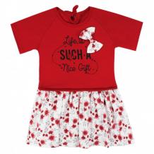 Купить babycollection платье с коротким рукавом цветы plt15/1/oz/sp/d