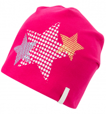 Купить шапка icepeak звезды, цвет: розовый 752801514iv665