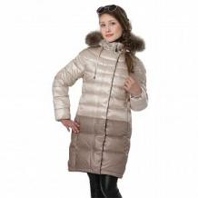 Купить пальто ovas омбре, цвет: коричневый ( id 10917332 )