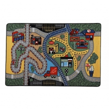 Купить confetti kids коврик rugs race 3 мм 133х190 см conf.01.11.133*190-01gr