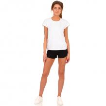 Купить комплект футболка/шорты апрель физкультура, цвет: белый/черный ( id 10817627 )