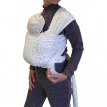 Купить слинг мамарада шарф трикотажный млечный путь