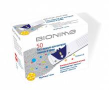 Купить bionime тест-полоски для глюкометра rightest gs300 50 шт. gs300 (50)