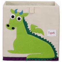 Купить коробка для хранения 3 sprouts, дракон 10826351