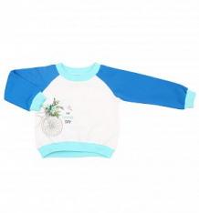 Джемпер Kiki Kids 955375, цвет: белый/голубой ( ID 5404093 )