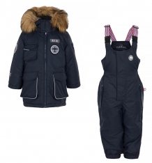 Купить комплект куртка/комбинезон лайки авиатор, цвет: черный ( id 7464793 )