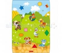 Купить игровой коврик babypol домашние животные 100х140х1 см 9101410