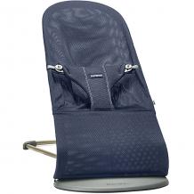 Кресло-шезлонг BabyBjorn Bliss Mesh темно-синий с игрушкой ( ID 11161770 )