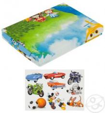 Купить комплект постельного белья артпостель воздушный патруль, цвет: голубой 4 предмета ( id 10210659 )