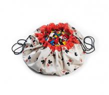 Купить play&go 2 в 1: мешок disney mickey cool для хранения игрушек и игровой коврик 79982