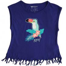 Купить футболка детская roxy whispersunderra royal blue синий,белый ( id 1174712 )