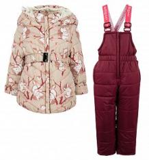 Купить комплект куртка/полукомбинезон boom by orby, цвет: бежевый ( id 10009308 )