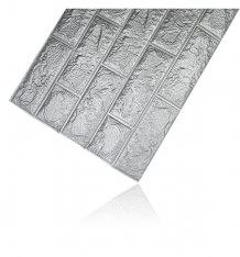 Купить панели для стен удачная покупка мягкие, цвет: серый 70 х 77 см ут-00000189