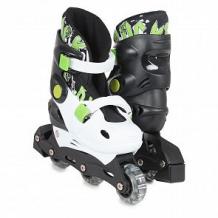 Купить ролики action pw-129c (30-33), цвет: зеленый ( id 12404212 )