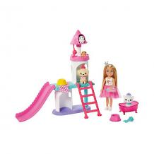 """Купить игровой набор barbie """"приключения принцессы челси"""" домик для домашних животных ( id 16480627 )"""