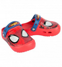 Купить сабо crocs fl spiderman lght clog k flame, цвет: красный ( id 8503483 )
