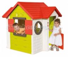 Купить smoby игровой детский домик со звонком 810402 810402