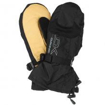 Купить варежки сноубордические dakine leather scout mitt black/tan бежевый,черный 1192646
