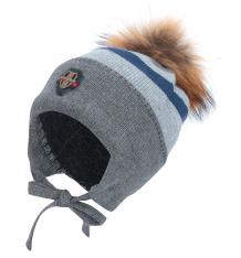 Купить шапка fun time, цвет: серый f18an6293