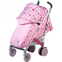 Купить коляска-трость babyhit rainbow lt, розовая с серым ( id 11429182 )