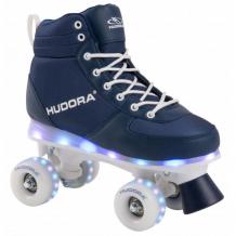 Купить детские ролики hudora квады advanced led с подсветкой