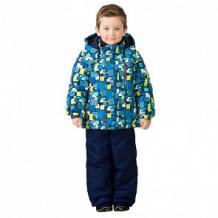 Купить комплект куртка/полукомбинезон premont город будущего, цвет: синий ( id 6610153 )