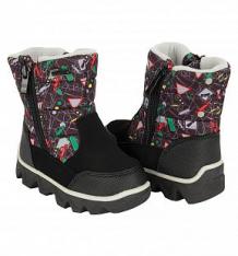 Купить ботинки kenka, цвет: черный ( id 10082538 )