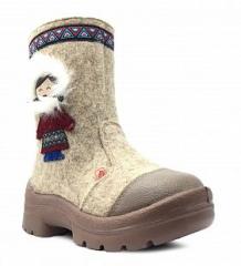 Купить валенки филипок эскимоска, цвет: бежевый ( id 9926610 )