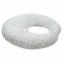 Купить leader kids подушка для кормления квадратики, цвет: зеленый ( id 12192760 )