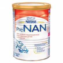 Купить nan prenan® сухая молочная смесь для недоношенных и маловесных детей с рождения, 400 г 12248956