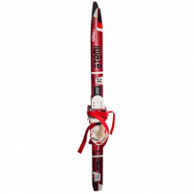 Купить atemi лыжный комплект для детей formula step c креплением комби без лыжных палок 90 см atemi formula step