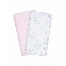 """Купить пеленки муслиновые """"весенние цветы"""", 2 шт., белый, розовый mothercare 4061029"""