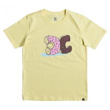 Купить футболка детская quiksilver donut crush lemon meringue желтый 1199210