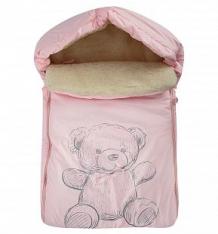 Купить leader kids конверт в коляску мишка 70 х 48 см, цвет: розовый ( id 9690042 )