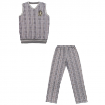 Купить комплект жилет/брюки апрель день знаний, цвет: серый ( id 10817693 )