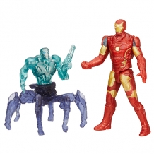 Купить hasbro avengers b0423 набор из двух мини-фигурок мстителей, 6 см (в ассортименте)