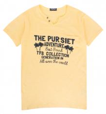 Купить футболка tuffy, цвет: желтый ( id 9890217 )