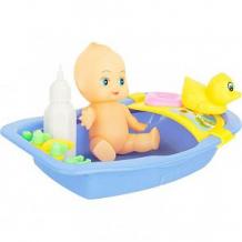 Купить игровой набор игруша купаем пупса цвет: фиолетовый ( id 9950418 )