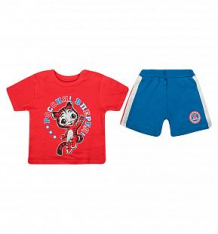 Купить комплект футболка/шорты pelican, цвет: красный ( id 2832008 )