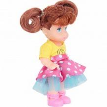 Купить кукла игруша розовая юбка, желтый топ ( id 9954741 )