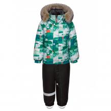 Купить kisu комбинезон для мальчика зимний горы w19-10601 w19-10601