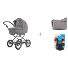 Купить коляска-люлька inglesina sofia на шасси ergobike slate с сумкой trilogy plus и подстаканником valco baby bevi buddy