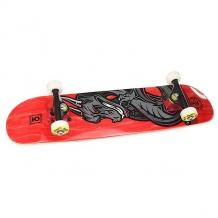 Купить скейтборд в сборе детский юнион dragon red 28 x 7 (17.8 см) красный,серый,черный