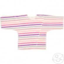 Купить распашонка чудесные одежки, цвет: розовый/белый ( id 12491566 )