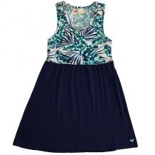Купить платье детское roxy geo mix in dre tropical days marshm синий,белый ( id 1174711 )