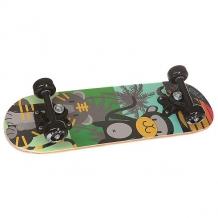 Купить скейтборд в сборе детский детский fun4u black animals multi 20 x 6 (15.2 см) мультиколор