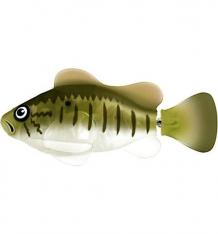 Купить интерактивная игрушка robofish большеротый окунь 8 см 1634846