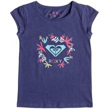 Купить футболка детская roxy moidflowerlogo deep cobalt темно-синий ( id 1199816 )