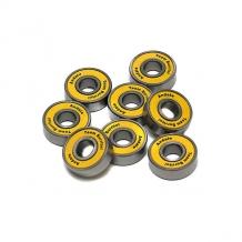 Купить подшипники для скейтборда andale abec 5 yellow желтый,серый